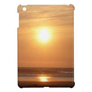 orange sunset iPad mini covers