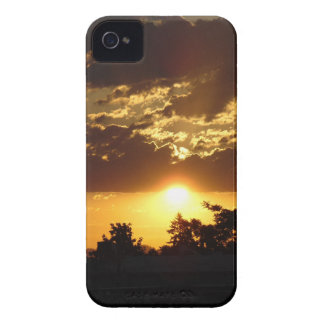 Orange Sunset iPhone 4 Covers