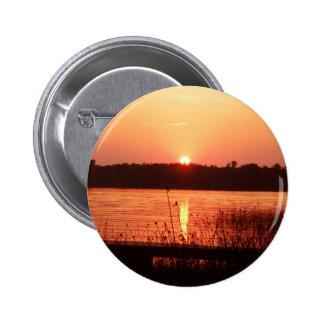 Orange Sunset on the lake Pins