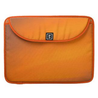 Orange Sunset Sky Abstract Art Macbook Sleeve MacBook Pro Sleeve