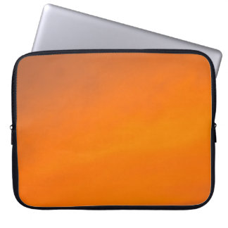 Orange Sunset Sky Abstract, Laptop Storage Sleeve Laptop Sleeves