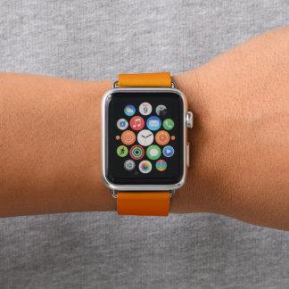 Orange Sunset Sky Purple Gradient Fade Apple Watch Band