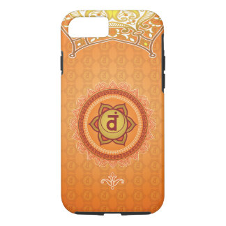 Orange Svadhisthana 2nd (Sacral) Chakra Phone Case