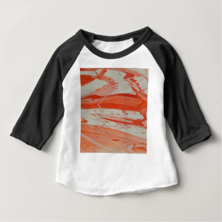 Orange Swirl Baby T-Shirt