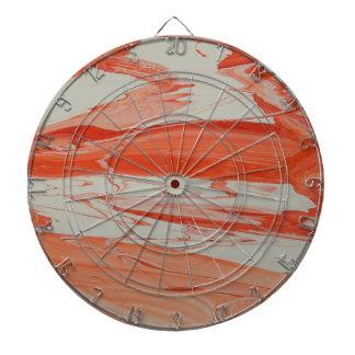 Orange Swirl Dartboard