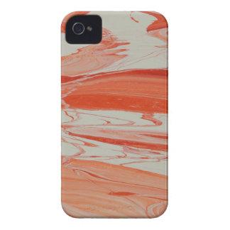 Orange Swirl iPhone 4 Case-Mate Case