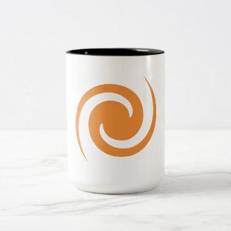 Orange Swirl Mug