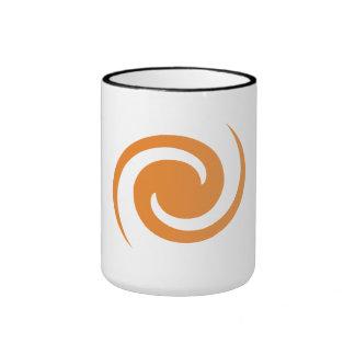 Orange Swirl Mugs