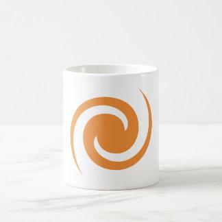 Orange Swirl Coffee Mug