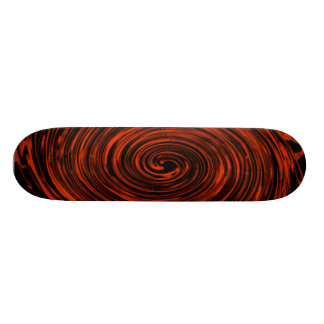 orange swirl skate board decks