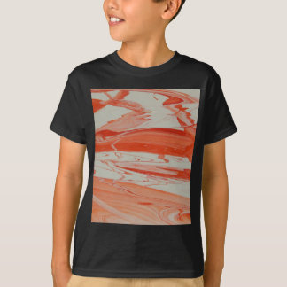 Orange Swirl T-Shirt