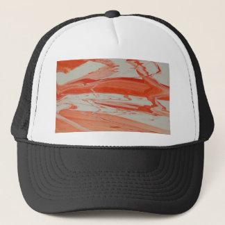 Orange Swirl Trucker Hat