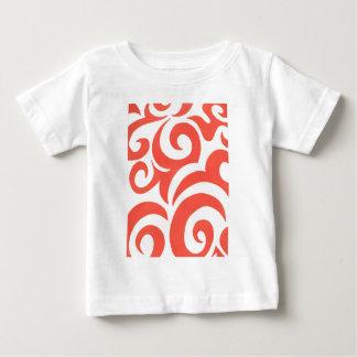 Orange Swirls Tshirt