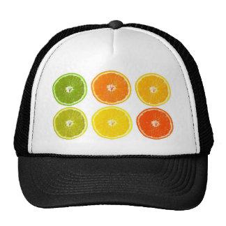 Orange !t mesh hat