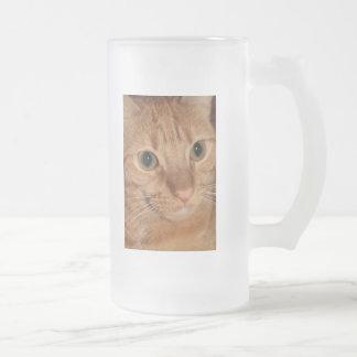 Orange Tabby Cat Profile Face Close up Mug