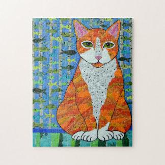Orange Tabby Cat Puzzle
