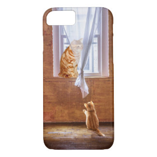 Orange tabby kitty cats iPhone 7 case