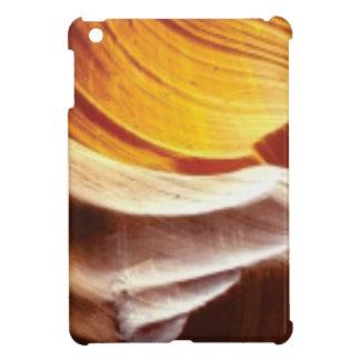 orange tan sun rocks iPad mini cases