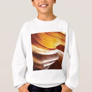 orange tan sun rocks sweatshirt