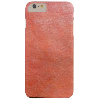 orange texture barely there iPhone 6 plus case