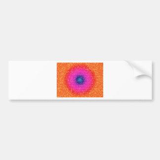 Orange through the net bumper sticker