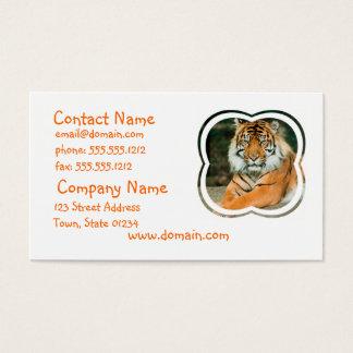 Orange Tiger Business Card