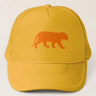 Orange Tiger Trucker Hat