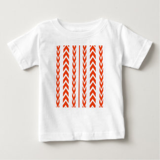 Orange Tire Tread Baby T-Shirt