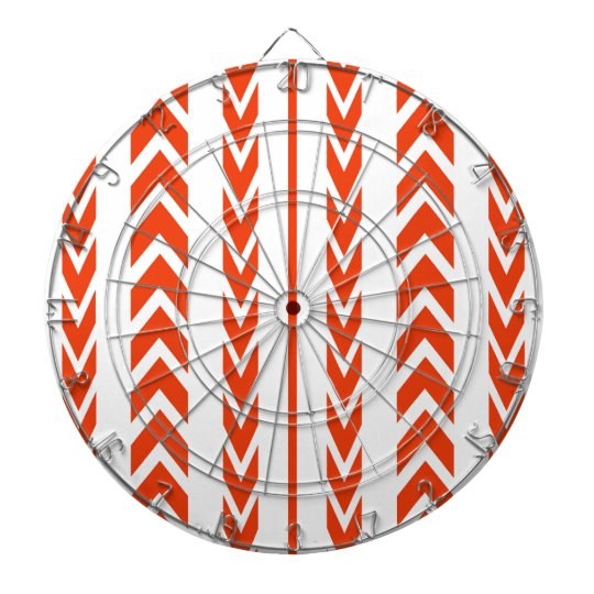 Orange Tire Tread Dartboard