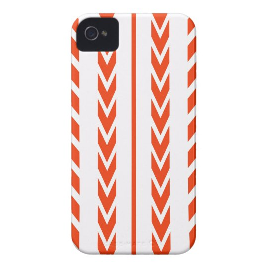 Orange Tire Tread iPhone 4 Case