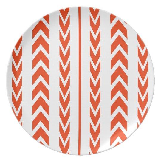 Orange Tire Tread Plate