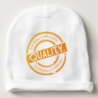 Orange Top Quality products Baby Beanie