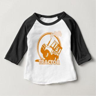 Orange Tractor Farm Machinery Shirt