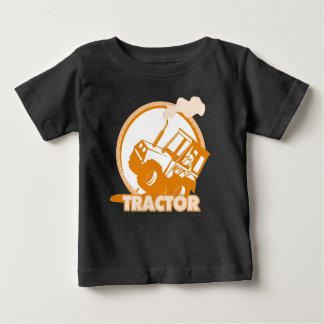 Orange Tractor Farm Machinery Tees