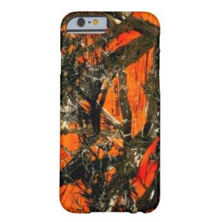 """Orange Tree Branch Camouflage"" iPhone 6 Case"