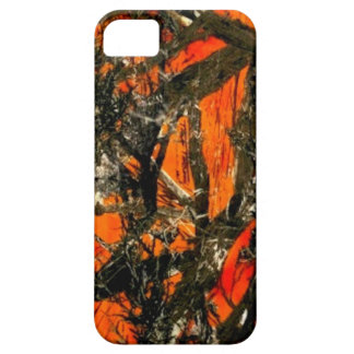 Orange Tree Branch Camouflage iPhone 5 Cases