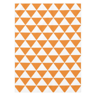 Orange Triangle Pattern Tablecloth