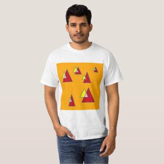 Orange Triangles T-Shirt