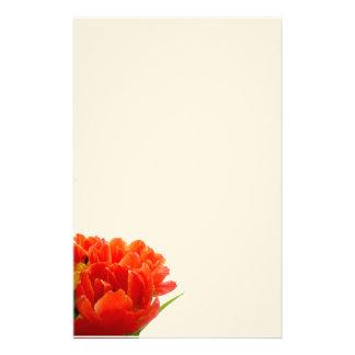 Orange Tulips Stationary Stationery Design
