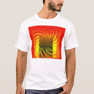 Orange Twirl T-Shirt