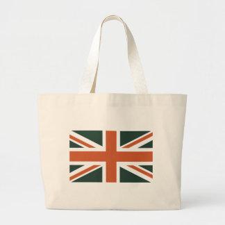 Orange Union Jack British(UK) Flag Bags