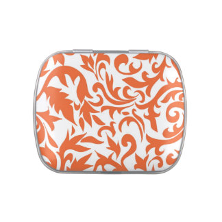 Orange Wedding Jelly Belly Candy Tin