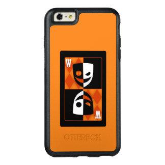 Orange Wildcard Black & White Faces OtterBox iPhone 6/6s Plus Case
