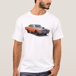 Orange with black stripe 1967 Plymouth Roadrunner. T-Shirt
