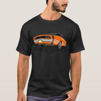 Orange with Black Stripes '68 Charger T-Shirt