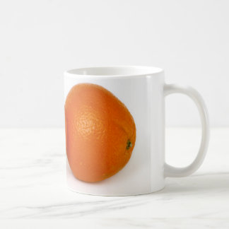 Orange with water drops coffee mug
