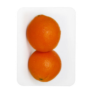 Orange with water drops magnet