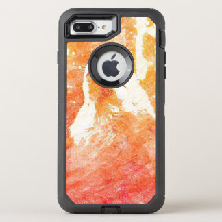 Orange Wolf iPhone 8/7 Plus Otterbox Case