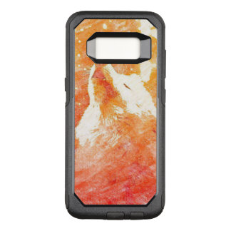 Orange Wolf Samsung Galaxy S8 Otterbox Case