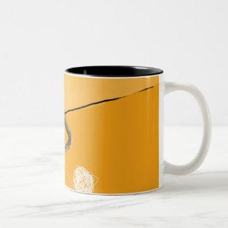 Orange Yarn Mug